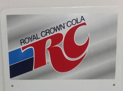 Vintage Royal Crown Cola Rc Advertising Sign