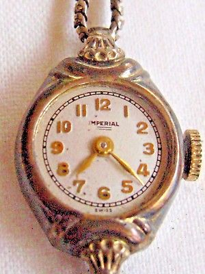 VINTAGE IMPERIAL SWISS GOLD TONE LADIES WATCH with 12K GOLDFILLED BAND
