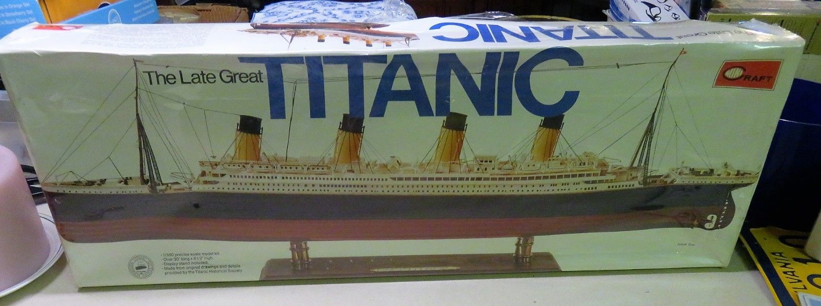 MiniCraft Titanic 1/350 Precise Scale Model Kit Sealed