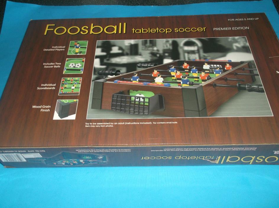 FOOSBALL TABLETOP SOCCGAME PREMIER EDITION WESTMINSTER 20