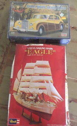 Revell  U. S. C.G. Sailing Bark Eagle+ Phantom Squire11225