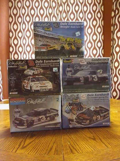 Dale Earnhardt Models Kit 124 scale