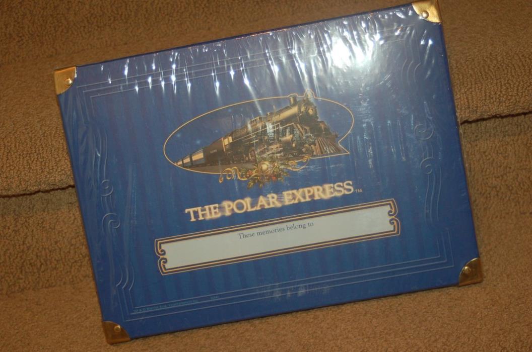 THE Polar Express 2004 HALLMARK KEEPSAKE Storage Box SEALED - New in packaging