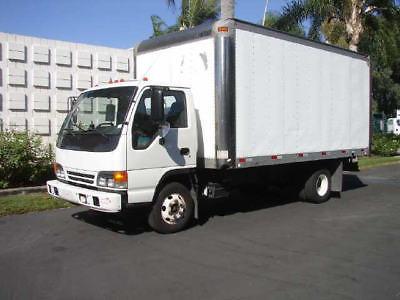 2005 Isuzu NPR-HD-16'VAN - Unit# 6143 Truck Tractors