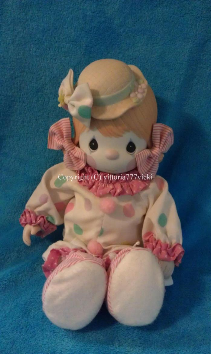 Precious Moments Candy Bisque Porcelain Clown Doll