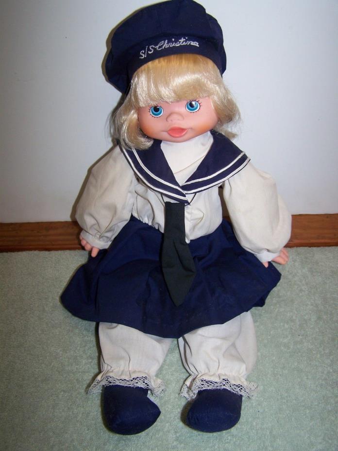 Vintage Doll by Pauline Bjonness Jacobsen Sailor  19