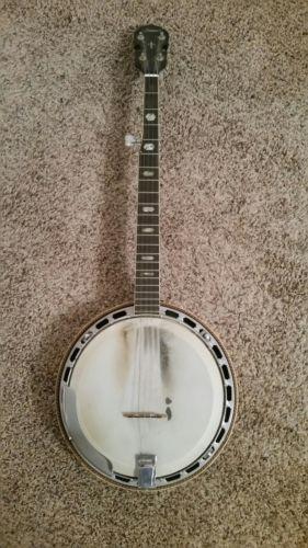 Ariama arch top 5 string banjo