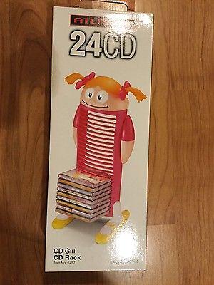 Atlantic Little Girl Shaped CD Rack/Holder
