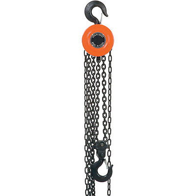 Global Industrial Manual Chain Hoist 10 Foot Lift 2,000 Pound Capacity