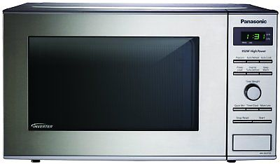Panasonic Inverter Technology Stainless 950W 0.8 Cu. Ft. Countertop Microwave