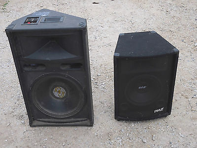 Speakers Pyle Pro PASC15 and PAH1079