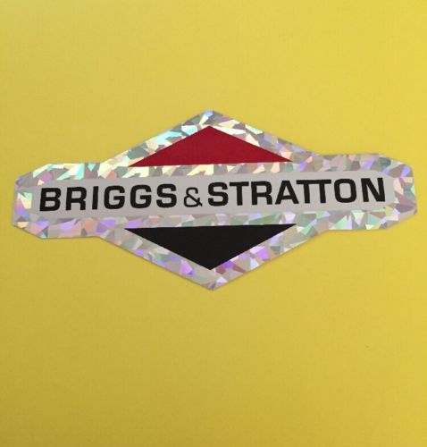 Briggs & Stratton sticker decal 6