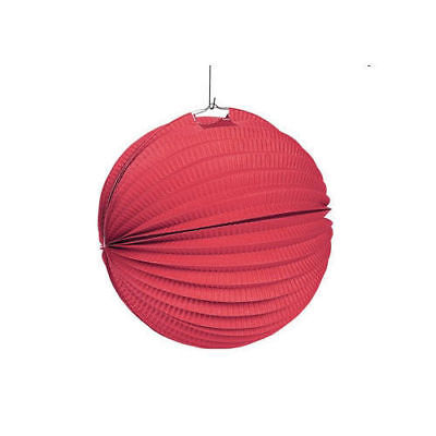 Red Paper Lanterns Pack of 12 Party Decoration Lanterns Wedding Decorations