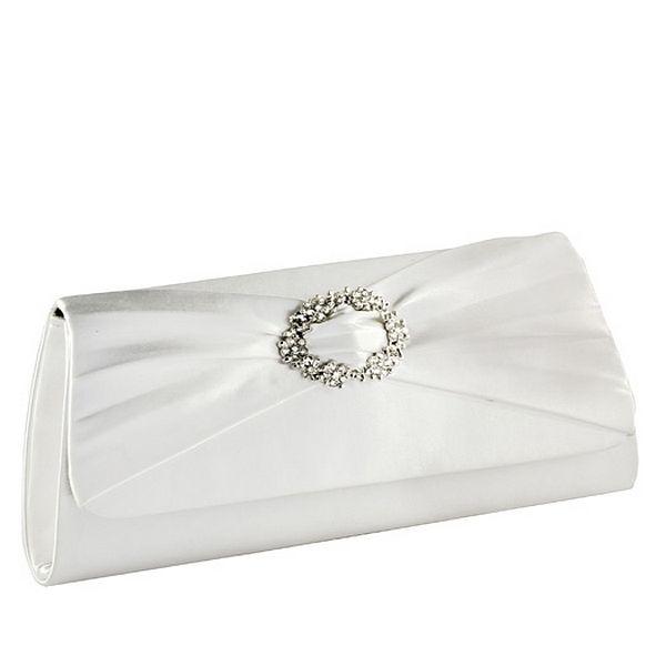 NIB Satin handbag Satin Dyeable Evening Dresses, Wedding Gowns HB2062