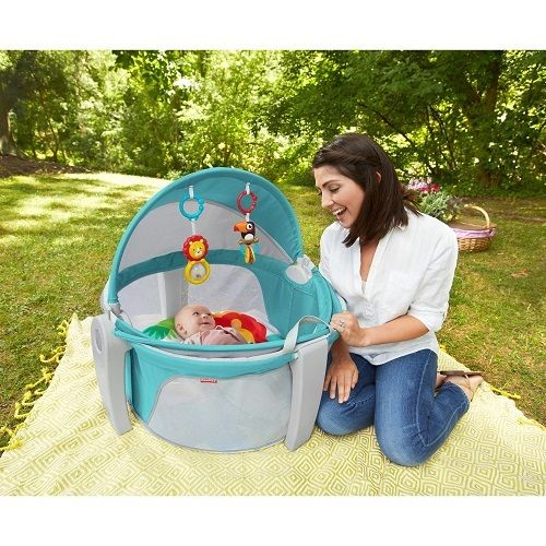 Baby Play Pen Yard Fence Gate Infant Child Tent Dome Safety Safe Portable Home