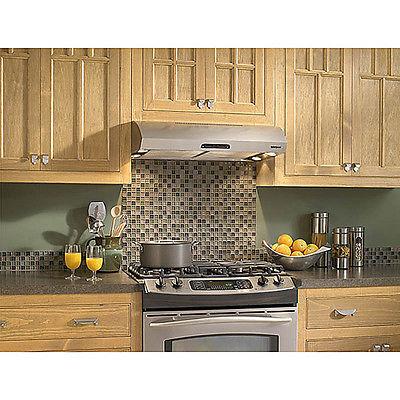 Range Hoods Under Cabinet Vent 30 Inch Stainless Steel Modern Kitchen Exhaust