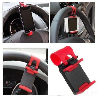 Universal Car Auto Steering Wheel socket navigate Case Holder Stand for iPhone 4