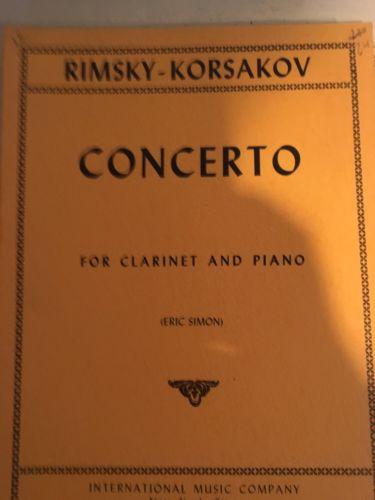 Rimsky Korsakow Concerto for Clarinet and Piano