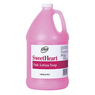 DIAL SWEETHEART PINK LTN SOAP4/1GAL