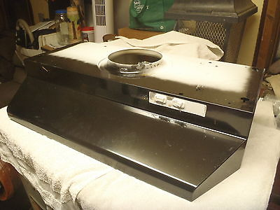 Built In Ducted Vent 30Inch Range Hood Under Cabinet Light Kitchen Stove Durable
