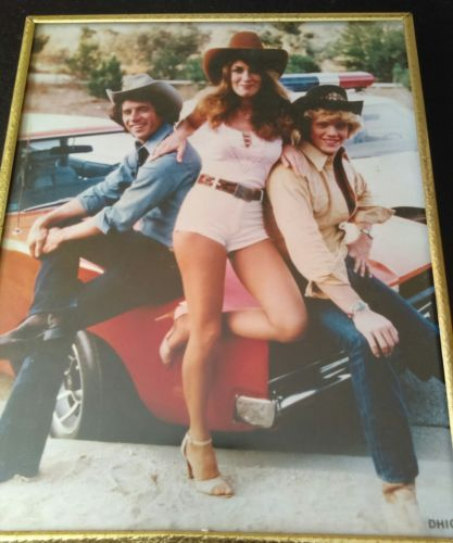 dukes of hazzard framed picture
