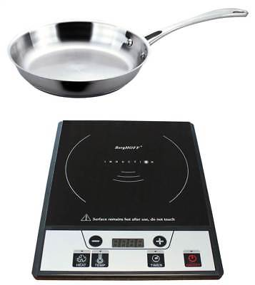 Power Induction Stove with Stainless Steel Fry Pan [ID 3268901]