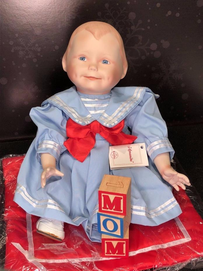 Edwin M. Knowles, Yolanda's Picture-Perfect Babies Doll AMANDA 10