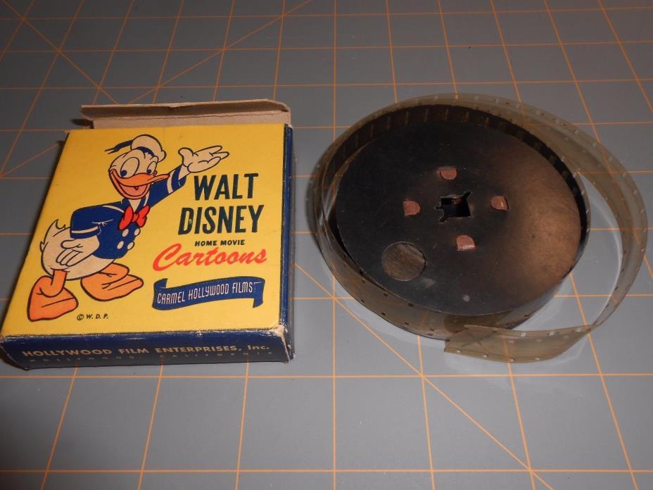 RARE WALT DISNEY 1930 MICKEY MOUSE FILM Reel 1653-Z DONALD DUCK SPEEDY COP 16mm