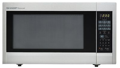 Sharp Countertop Microwave Oven ZR651ZS 2.2 cu. ft. 1200W Stainless Steel wit...