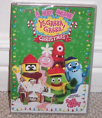 NEW Yo Gabba Gabba ~ A Very Awesome Christmas Dvd ~ SEALED