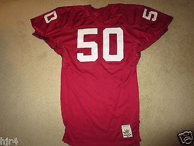 Arizona Phoenix Cardinals 1989 NFL Game Worn Used Sand-Knit Macgregor Jersey 48