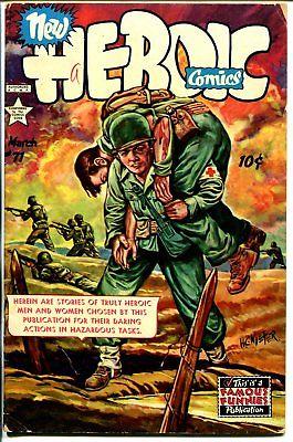 Heroic #71 1952-Frank Frazetta-Korean War battle art-H C Kiefer cover-VG
