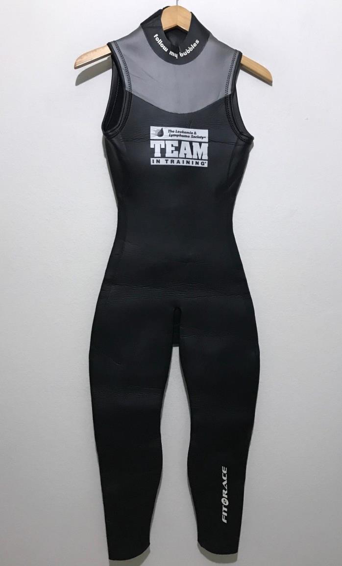 Fit To Race Womens Triathlon Wetsuit S2 Sleeveless FTR