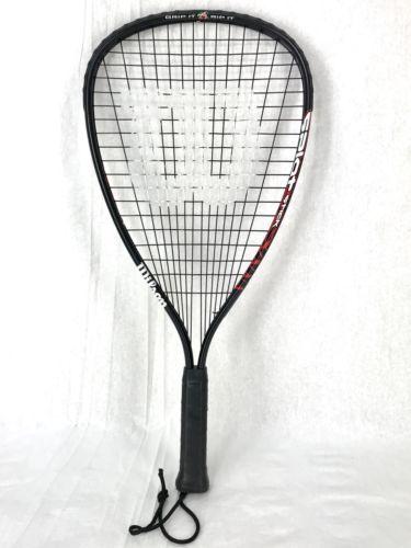 Wilson Splat Stick Racquetball Racquet Grip It Rip It Black Lightweight 7.5oz