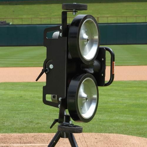 Two Wheel Baseball Pitching Machine [ID 3357029]