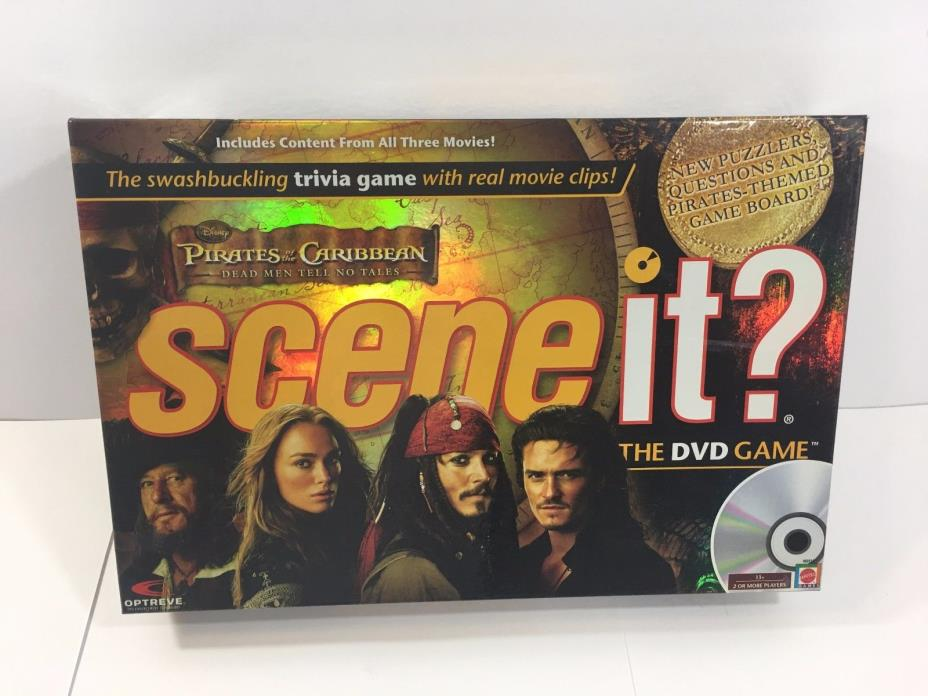 Scene It? Pirates of the Caribbean (by  Scene It )