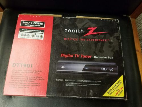 Zenith DTT901 Digital TV Tuner Converter Box with Analog Pass-Through