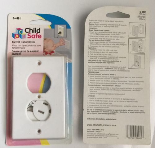 New Child Safe Swivel Electrical Outlet Safety Cover