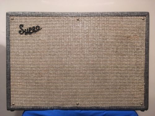 Vintage 1966 Supro 1688T Guitar Amplifier