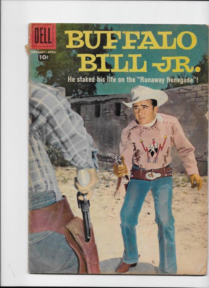 Dell Comics    Buffalo Bill Jr #7 1958  Silver Age Western  Solid VG