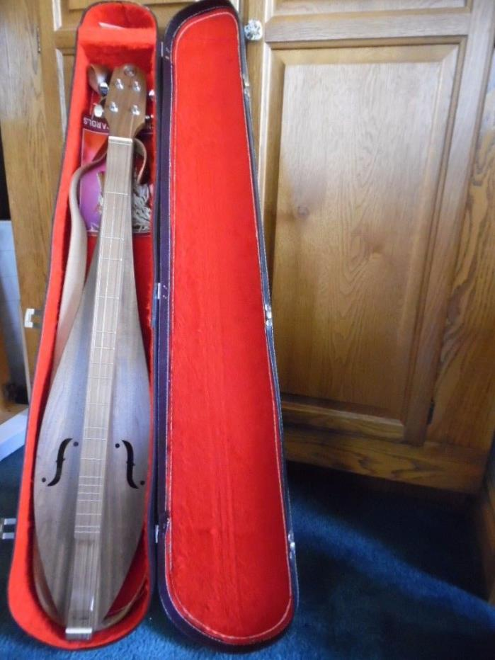 MCSPADDEN  4-STRING DULCIMER W/Case Signed Looney  FT34W #33261