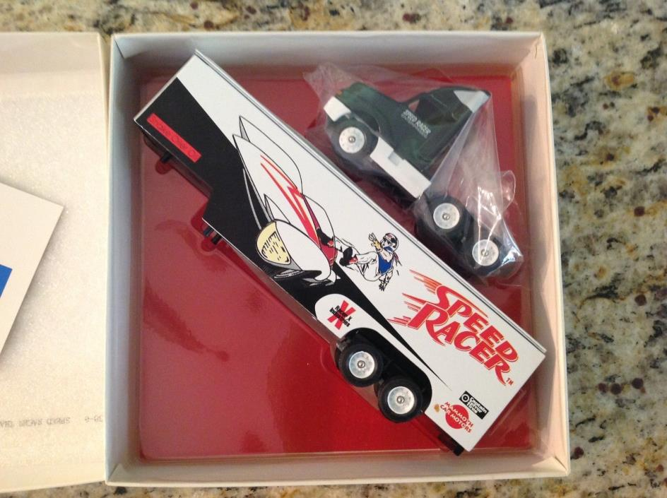 1996 Winross 1:64 Scale Go Speed Racer Go Tractor & Trailer 30th Anniversary !!