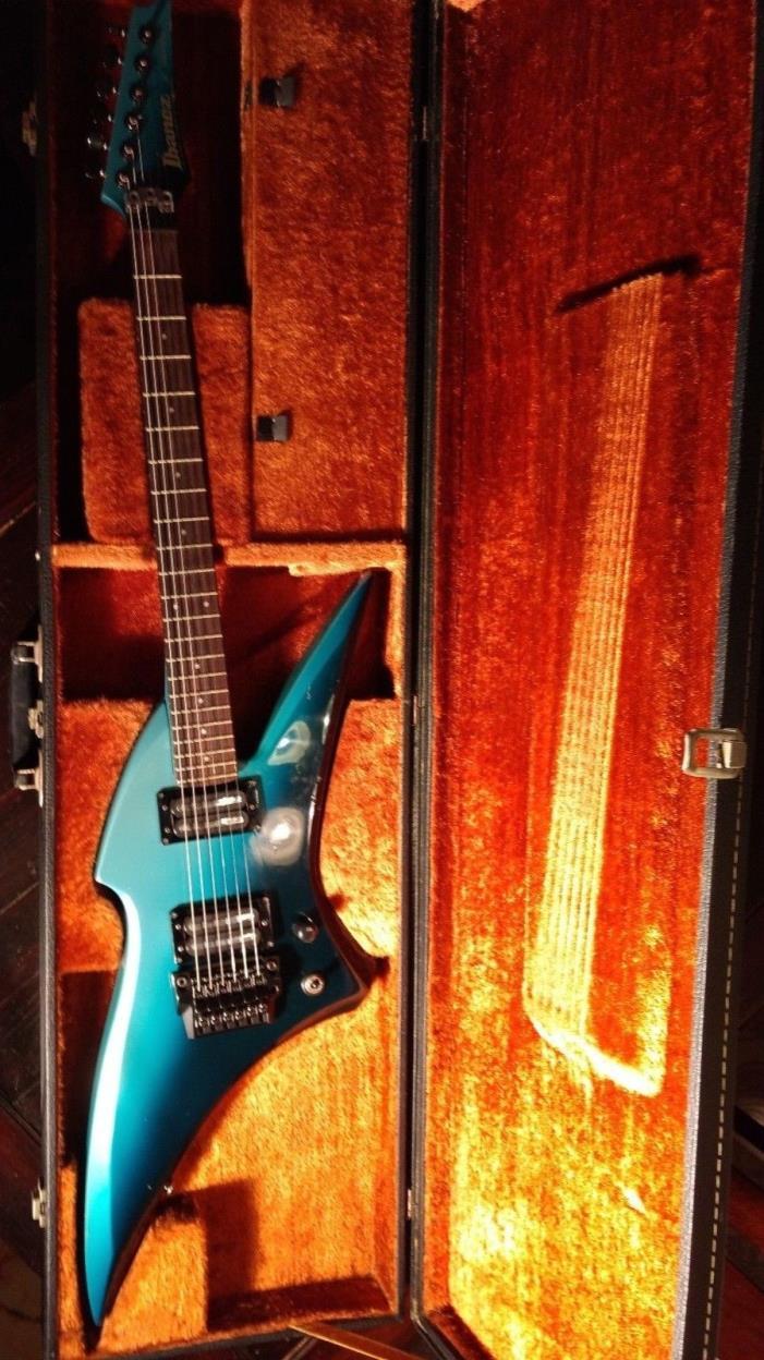 Vintage 1985 Ibanez X-series XV500 Rare - Halfburst Blue