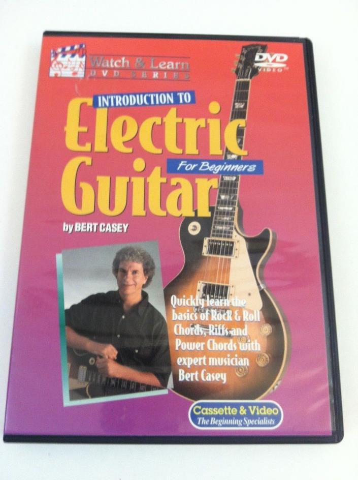 Watch & Learn Electric guitar primer for beginners  DVD