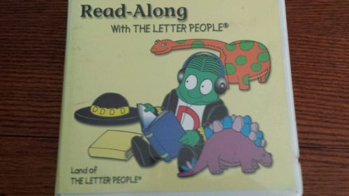 The LETTER PEOPLE Read-Along with the Letter People (Cassettes)