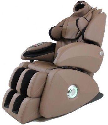 Osaki OS-7075R Taupe Executive Zero Gravity S-Track Massage Chair OS7075R