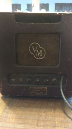 vintage electric guitar tube amplifier VM Corp. Jensen Alnico 5 blues tone 1950s