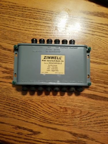 Zinwell MS6X8WB-Z Wide-band 6X8 Multi-sw Ka/Ku bands