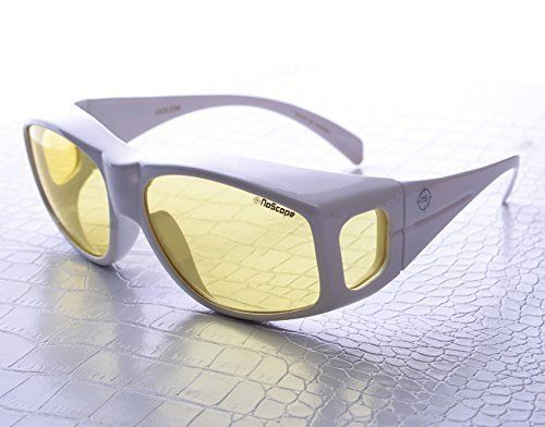 NoScope Golem Yellow Lens Video Game Gaming TV Computer Glasses | Anti Blue Rays