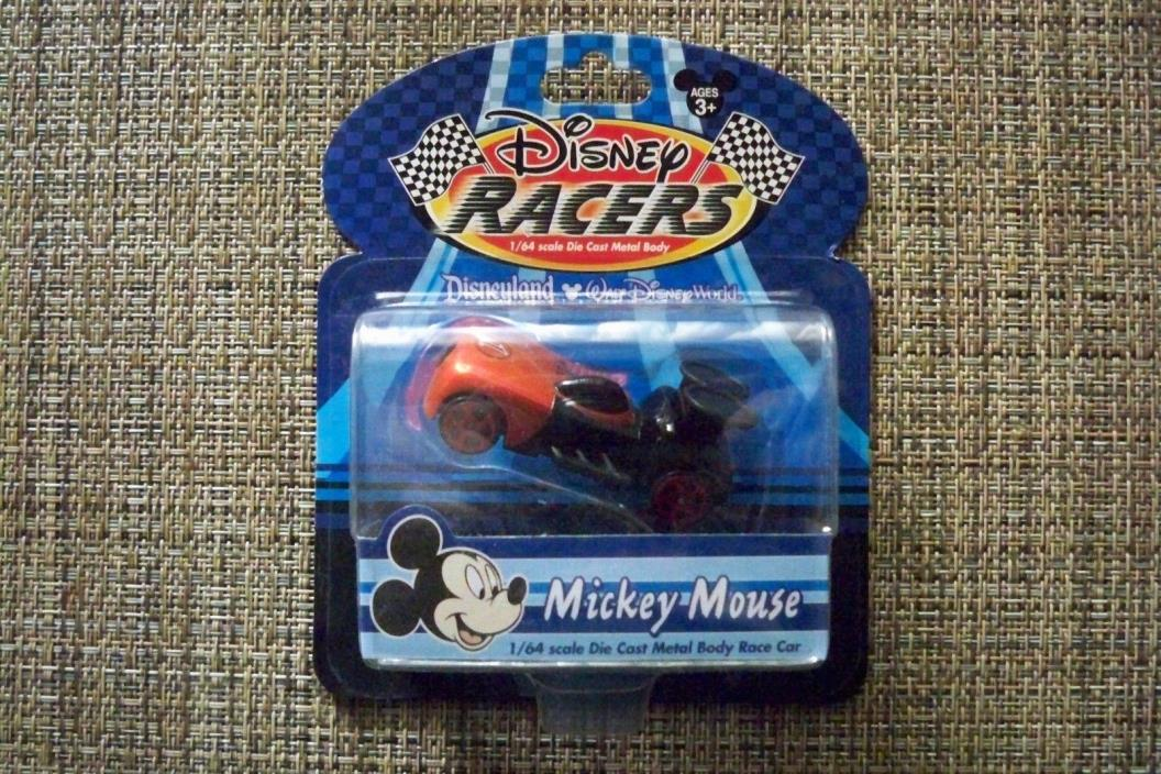 Disney Racer MICKEY MOUSE   Die Cast Metal Body Race  Car   FREE SHIPPING   6441